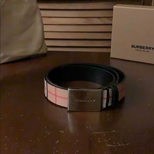 Authentic Men's Burberry Belt !